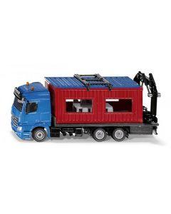 MB Arocs + Baucontainer
