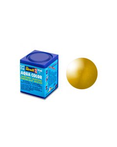 Aqua Color 18ml, messing metallic