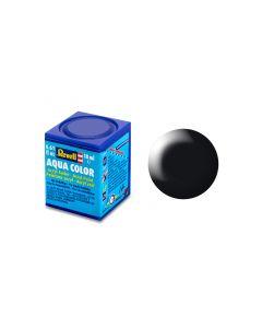 Aqua Color 18ml, schwarz seidenmatt
