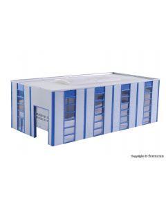 Lager-/ Industriehalle, modern, Bausatz