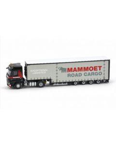 Mammoet Actros 4x2 + 4 axle Meusburger