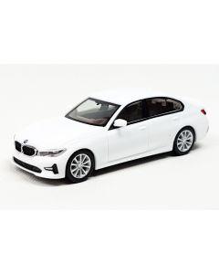 BMW 3er Limousine, alpinweiß