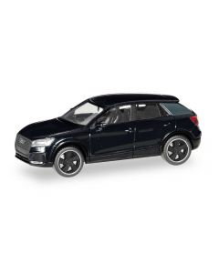 Audi Q2 Black Edition, brillantschwarz