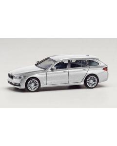 BMW 5er Touring, Glaciersilber metallic