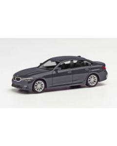 BMW 3er Limousine, mineralgrau metallic