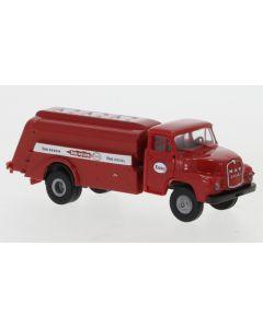 MAN 635 Tankwagen, rot, Esso, 1955