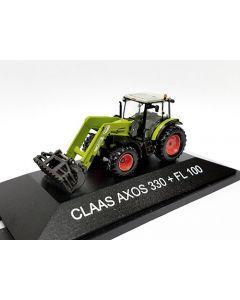 Claas Axos 330 + FL 100