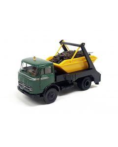 MB LP 328 mit Absetzmulde, grün