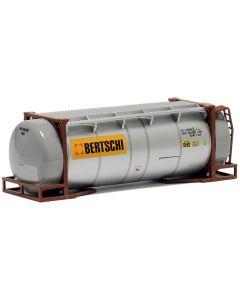"26ft. Tankcontainer, silber ""Bertschi"""