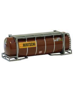 "26ft. Tankcontainer, braun ""Bertschi"""