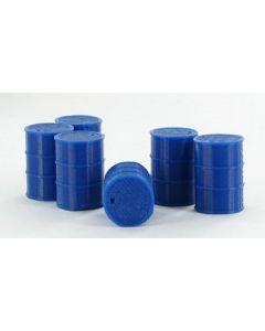 Barrels 55 Gallon, blue