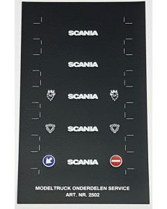Scania Spritzschutzlappen für Auflieger