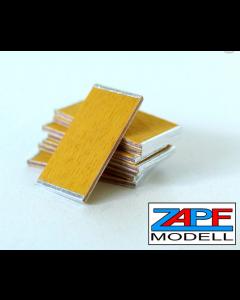 Schaltafeln  aus echtem Holz 12x   20 mm x 10 mm