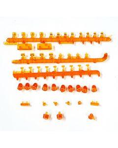 Lampenset orange - Schwerlast