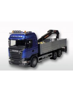 Scania R730 Streamline mit Ladekran
