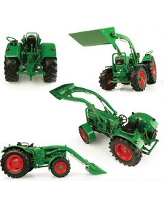 Deutz-Fahr D 60 05 - 4WD with front loader and bucket