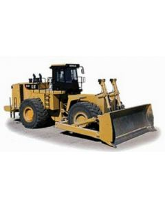 CAT Borteur sur pneus 854K