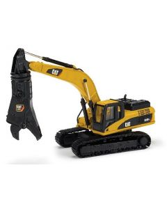 CAT 336D Tracked Excavator with Scrap Shear