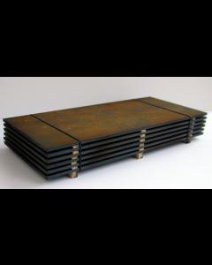 Stahlplattenstapel