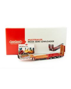 NOOTEBOOM REDLINE SERIES - MCOS-48-03EB semi lowloader with wood