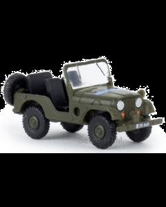Jeep Universal, Gendarmerie