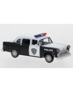 Checker Cab, Saugus Squad Car, Police Car, 1974
