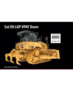 Cat D5 LGP VPAT Dozer