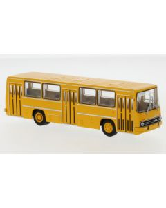 Ikarus 260 Stadtbus, dunkelgelb, 1972