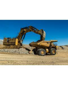 CAT 6060 Hydraulic Mining Shovel – Backhoe – Die-Cast