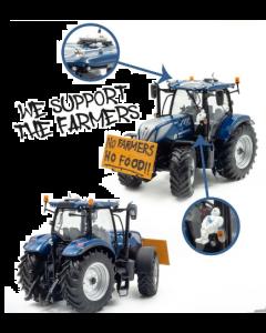 "New Holland T7.225 Blue Power ""NO FARMERS, NO FOOD"""