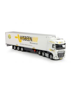 """DAF Euro 6 XF SSC \""""Visbeen\"""" with cooling trailer"""