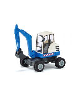 Mini-Bagger, blau