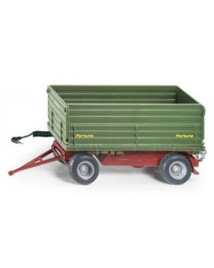 Fortuna Two-sided Tipping Trailer with storage battery