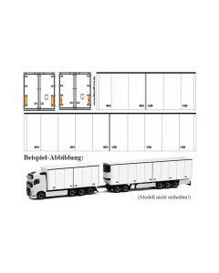 Decal für Skandinavien-Gigaliner / Eurocombi