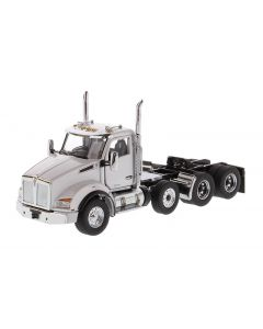 Kenworth T880 SBFA Day Cab Pusher in Metallic White