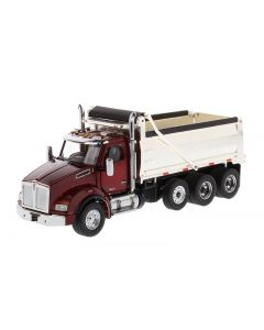 Kenworth T880 SBFA Dump Truck  Chrome Plated Dump Bed