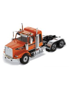 Western Star 4900 SB Sleeper Tandem Tractor orange
