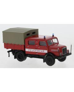 IFA S 4000-1 Bautruppwagen, Feuerwehr , 3. Version, 1960