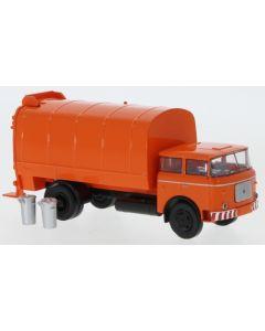 LIAZ 706 Müllwagen, orange, 1970