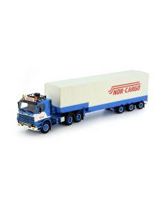 "Scania 2-Serie + Planenauflieger ""Nor-Cargo"""