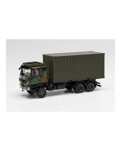 """Iveco Trakker 6x6 mit 20 ft. Cont. """"Bundeswehr"""""""