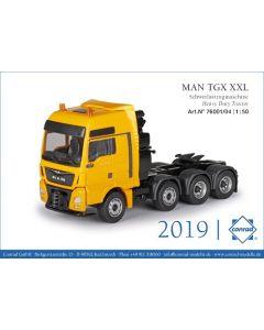 MAN TGX XXL D38 41.640 gelb 8x4
