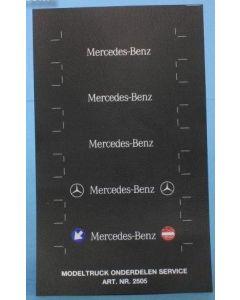 Kotschutzlappen Mercedes Benz
