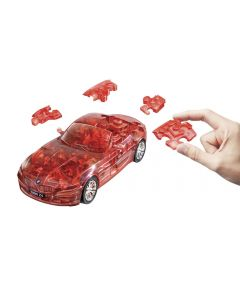 Puzzle Fun 3D BMW Z4 rot transparent