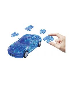 Puzzle Fun 3D BMW Z4 blau transparent