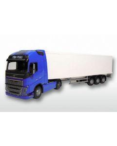 Volvo FH& Kofferauflieger blau/weiss