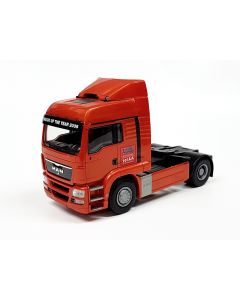 MAN TGS IAA Truck, goldorange