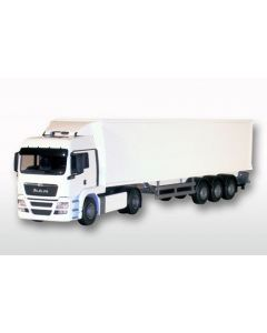 MAN TGS Box Trailer Euro 5