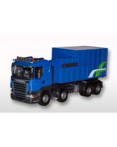 Scania R mit Abrollmuellpresse