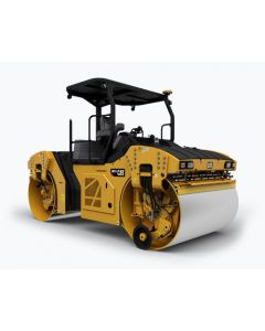 CAT CB-13 Tandem Vibratory Roller with ROPS